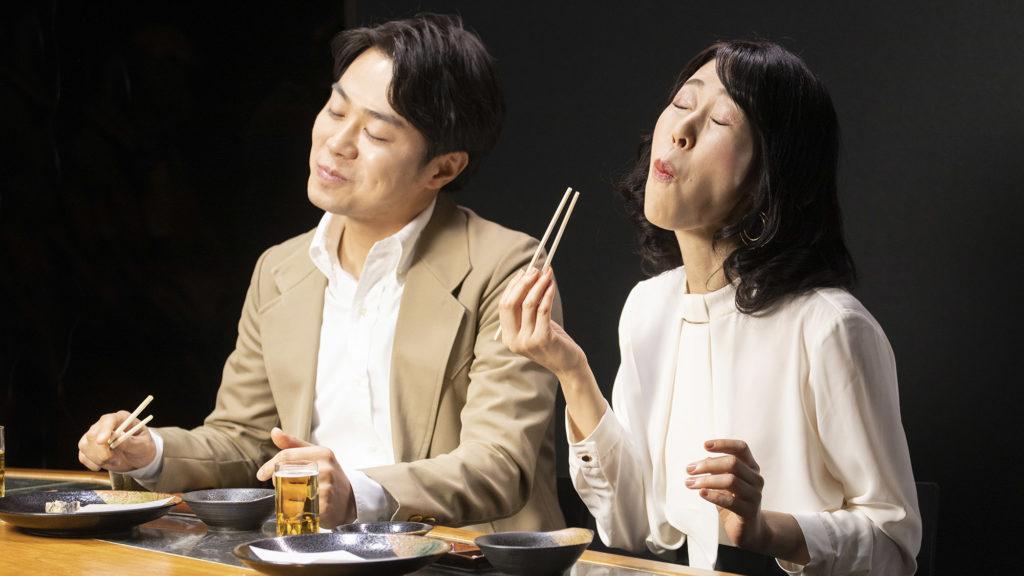 天ぷら屋の夫婦